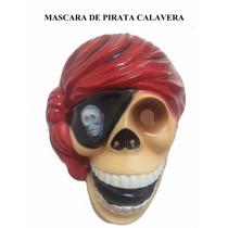 Mascara De Pirata Calavera Dia De Muertos