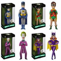 Vinyl Idolz Batman Tv Series: Batman Robin Coringa & Batgirl