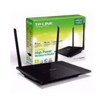 Router Tl-wr841hp Alta Potencia 300mbps Tp-link- Rompe Muros