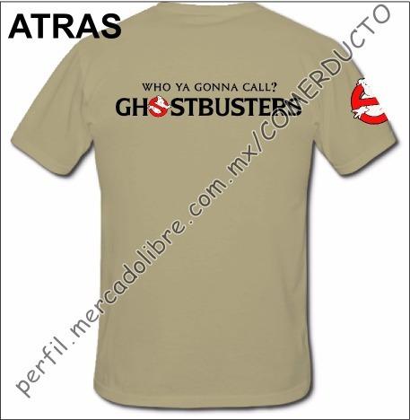 Playera Cazafantasmas Playera Ghostbusters Uniforme Who Ofwz -   155.00 en  Mercado Libre 06f98132682ff