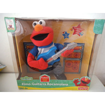 Elmo Guitarra Rocanrolera Plaza Sesamo Fisher Price