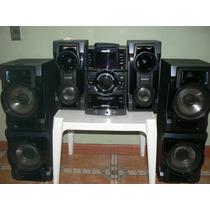 Equipo De Musica Sony Modelo Génezi Mhc-gtr77 1000w Negro
