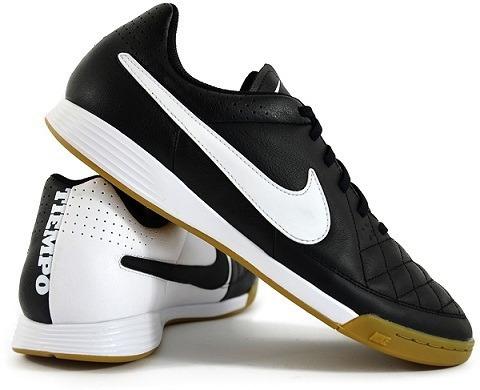Chuteira Nike Tiempo Genio Leather Ic Futsal Couro Original! - R ... 2978f3cf29dc9