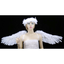 Alas Blancas De Angel Para Adultos Damas Niñas Envio Gratis