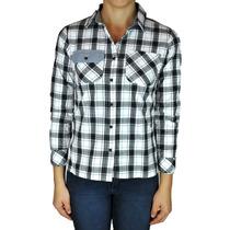 Camisa De Mujer De Cuadros - Wanama