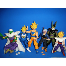 Bonecos Articulados Goku Gohan Trunks Cell Dragon Ball Z