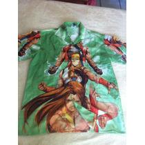 Camisa Con Imagen De Animes Talla Xl Envío Gratis