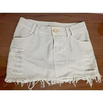 Saia Destroyed Jeans Color