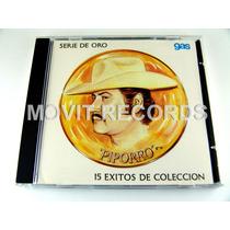 Piporro 15 Exitos De Coleccion S De Oro Cd Como Nuevo 1989