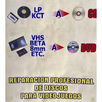 Reparacion De Discos Rayados, Video Juegos Rayados, Cds,dvds