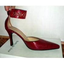Stiletto De Fiesta Color Rojo 39 - Belle De Jour - Zapatos