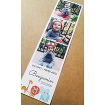 Souvenir Foto Iman Tira 10 Unid. 17 X 5 Cm Calidad Premium