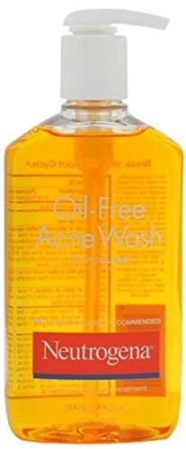 Neutrogena Oil-Free Acne Wash 9.10 oz (Pack of 2) Beyond Coastal Active Face Stick Spf 30 Sunscreen - 0.5 Oz
