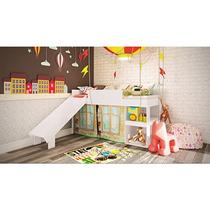 Cama Playground Meu Fofinho Art In Móveis Rosa