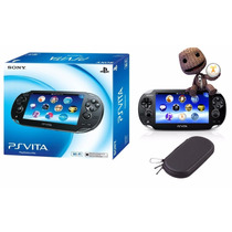 Ps Vita Psvita Wi-fi Original Sony + Case + Frete Grátis