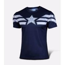 Remeras Superhéroes Capitán América
