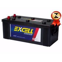 Bateria Automotiva Excell 150ah 12v Com Iso 9001 Caminhão