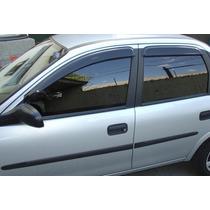Jogo 4 Calhas De Chuva Corsa Hatch / Wagon / Sedan / Classic