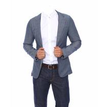 Super Oferta!! Blazer Casual-moderno Para Hombre Talla S