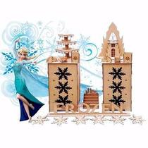 Kit De Aniversário Frozen - Mdf Crú - 18 Itens -festa