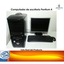Computadora Pentium 4 Win7 2gb Ram Excelentes Condiciones