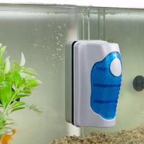 Limpiador Magnetico Flotante Para Peceras Acuarios Cristales