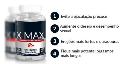 x max grow para que serve