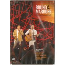 Dvd Bruno E Marrone - Pela Porta Da Frente - Novo***
