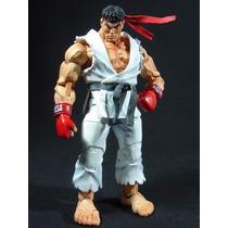 Boneco Street Fighter Ryu Neca Totalmente Articulado