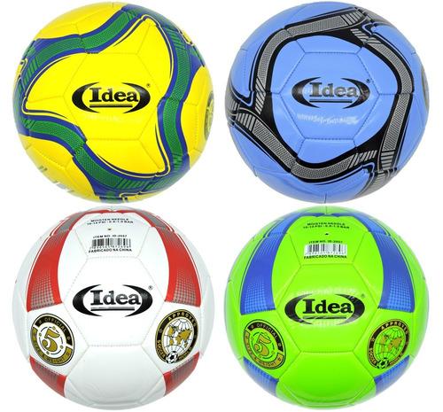 Bola Futebol Campo N.5 Para Criança Jogar 1 Unidade - R  25 99f4da151218d