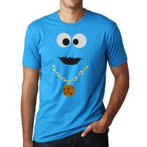Playeras O Camiseta Cookie Monster Come Galletas Pimp!!!