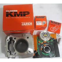 Kit Cg 150 P/190cc+cabo Ibooster+comando Bravo+vela Iridium