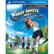 Jogo Hot Shots Golf: World Invitational Novo P/ Ps Vita