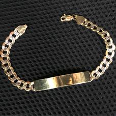 9a67400c0d12 Esclavas De Oro Para Mujer Sin Piedras Joyeria Pulseras - Joyas y ...