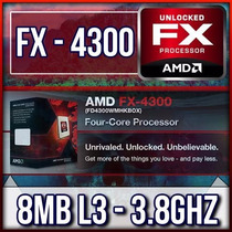Kit Amd Fx 4300 3.8ghz 8mb + Asus M5a78l-usb3 + Fury Hiperx