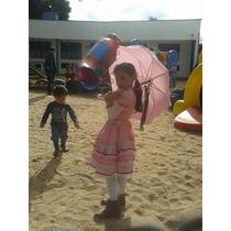 Vestido Festa Junina Infantil - Tamanho 6 Anos