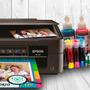 Impresora Xp 211 Sublimación+sist Con+ 4 Tintas De Repuesto