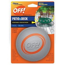 Off! Mosquito Coil Motor De Arranque 1 Paquete De 3 Bobinas