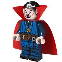 Genial Figura Sw11 Doctor Strange Marvel Compatible Con Lego