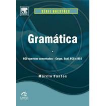 Livro Gramatica 600 Questões Comentadas + Brinde