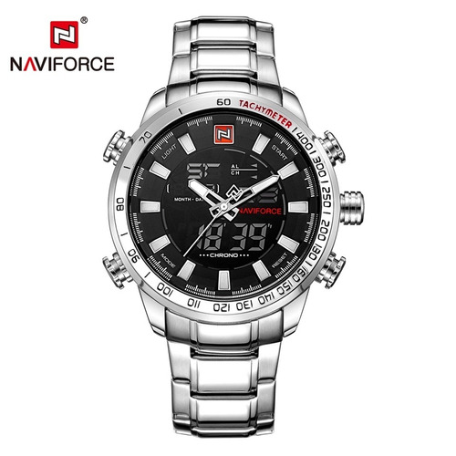 1d7cd9f2edd Relógio Masculino Militar Esportivo Luxo Naviforce Original - R  178 ...