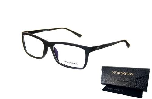 Armação Armani Ea3072 Masculino Óculos Para Grau Premium - R  80,00 ... b76587402b