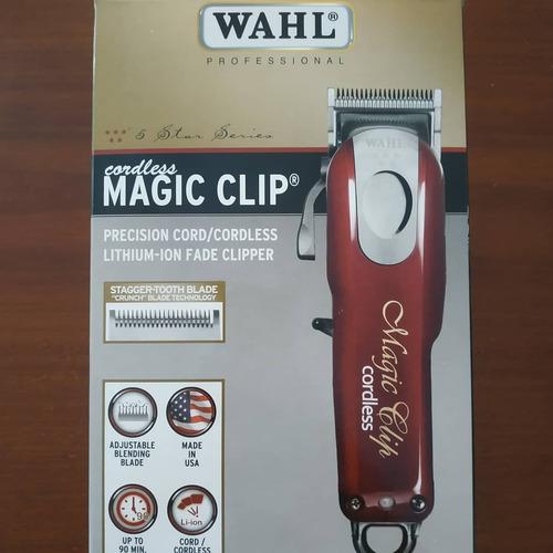dc1aec0c6 Magic Clip Cordless Sem Fio Maquina De Corte Profissional - R$ 625,00 em  Mercado Livre
