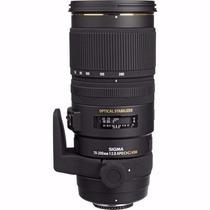 Lente Sigma 70-200mm F/2.8 Ex Dg Apo Os Ham Canon Ou Nikon