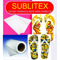 Sublitex Premium Polister Termocolante Para Chinelos Person