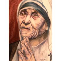 Dibujo Arte Sacro - Madre Teresa De Calcuta