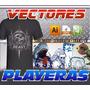 Vectores Supercoleccion Serigrafia O Estampado Playera 5gb