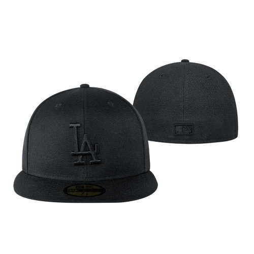 Gorra New Era Los Angeles Dodgers Negra -   729.00 en Mercado Libre 56f1f62e234