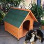 Casa Para Perro Ware Premium A-frame Dog House Brown, X-lar