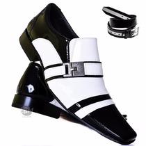 Sapato Social De Verniz- Lançamento! 100% Couro